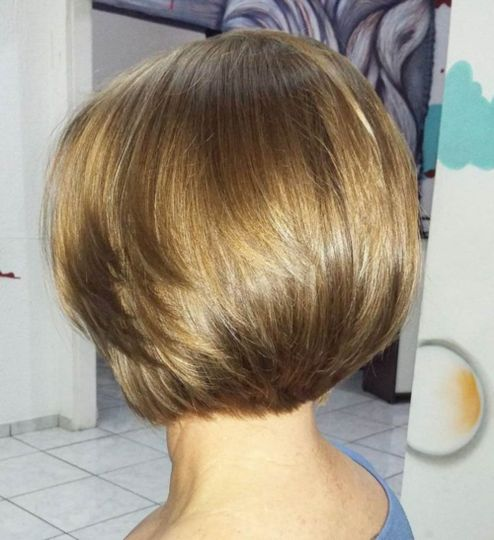 sleek simple bob
