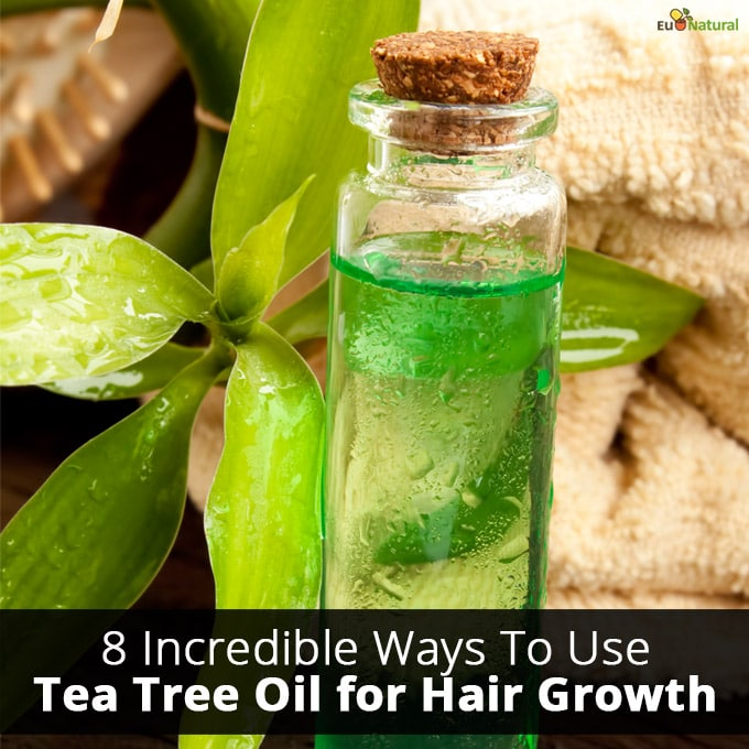 8 Incredible Ways To Use Tea Tree Oil for Hair