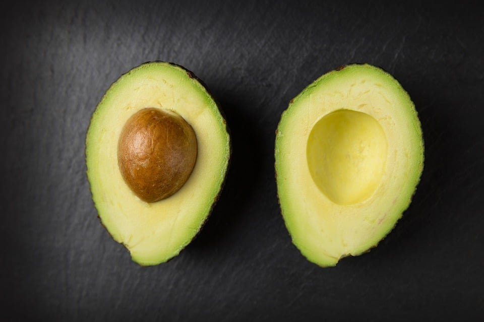 avocado halves for juicing and adrenal health