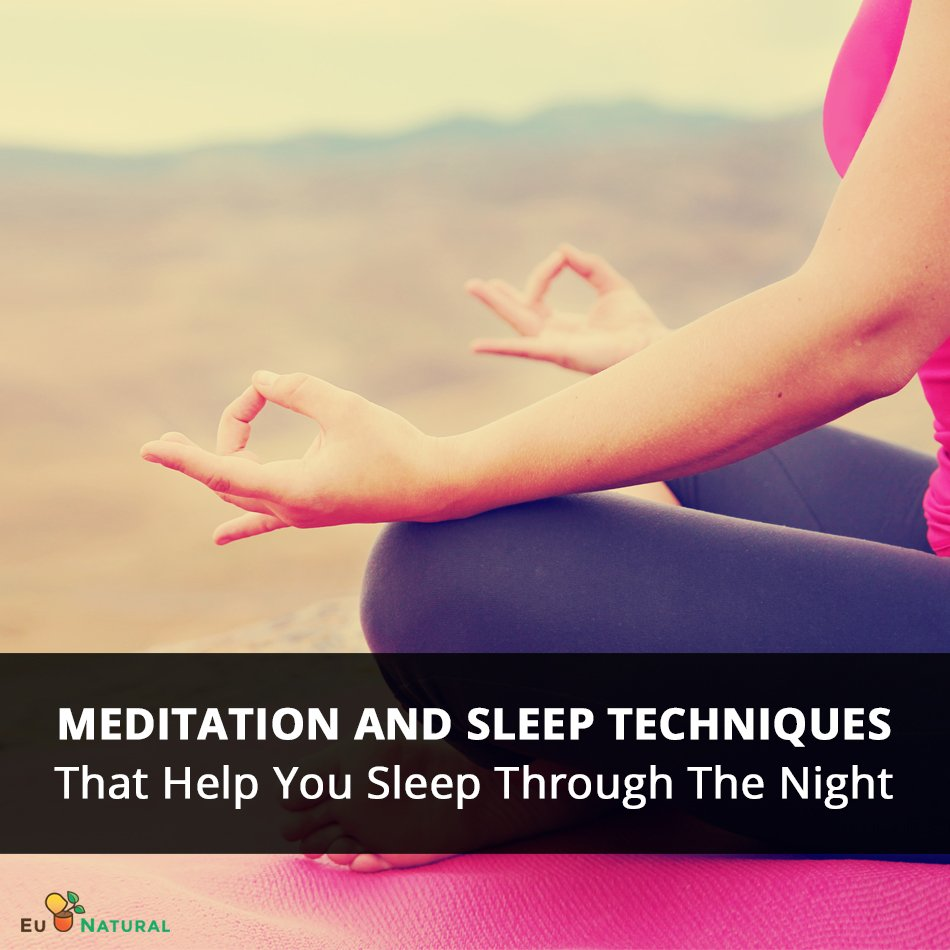 Meditation and Sleep Techniques That Help You Sleep Through The Night 950x950 final image