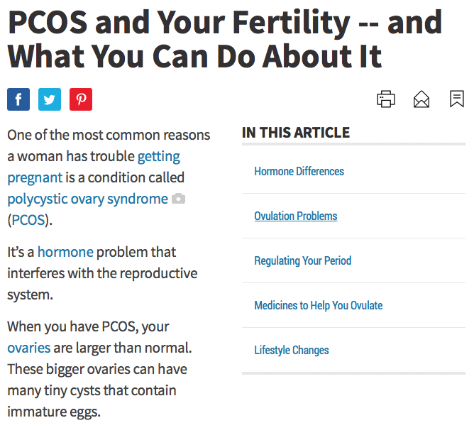 PCOS and Your Fertility and What You Can Do About It