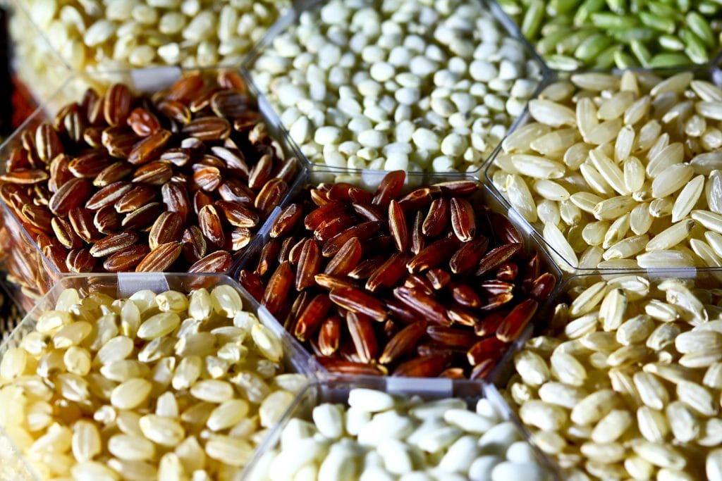 long grains that contain magnesium