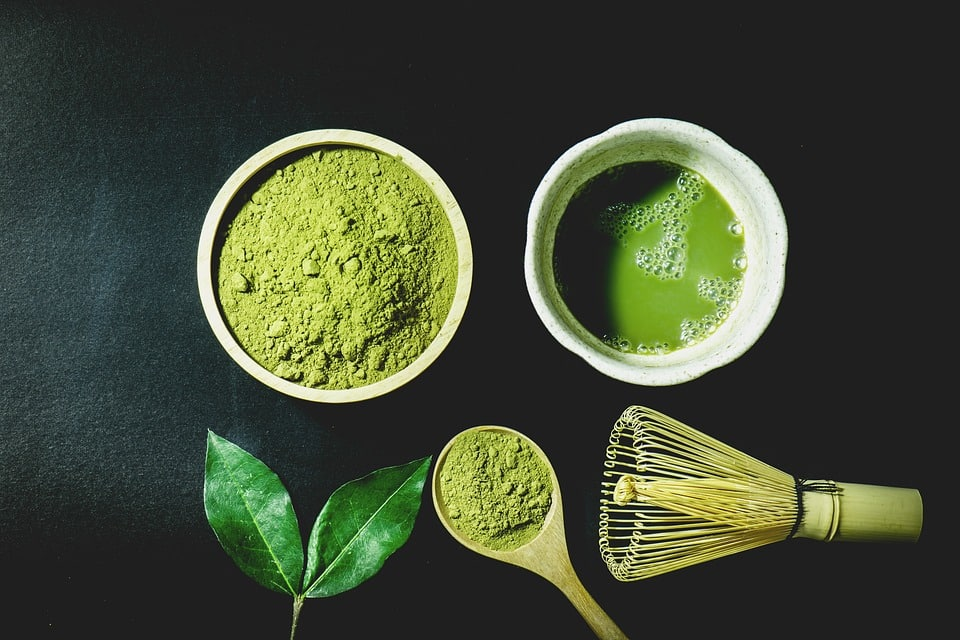 matcha for juicing and adrenal health