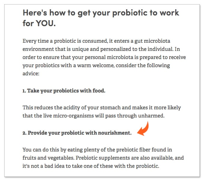 probiotic uti urinary tract infection study food